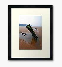 The Barque Helvetia Framed Print