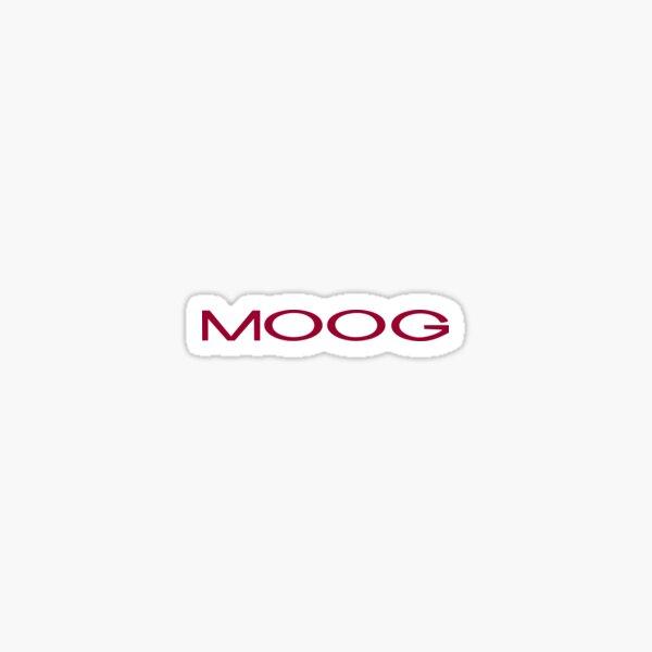 Moog Music Logo Decal Minimoog Moog Voyager Laptop Car Vinyl Sticker