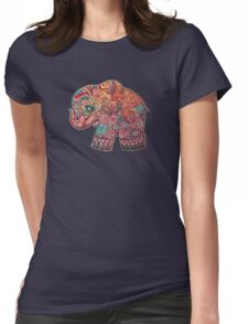 Vintage Elephant TShirt Womens Fitted T-Shirt