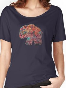 Vintage Elephant TShirt Women's Relaxed Fit T-Shirt