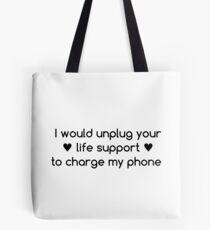 Life Priorities Tote Bag