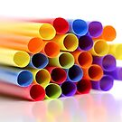 Colorful Straws by snehit