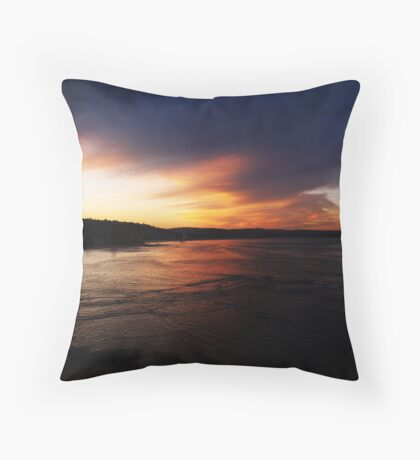 end Throw Pillow
