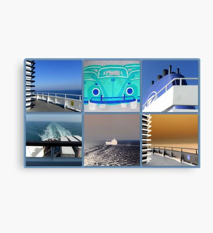Ferry Impressions Canvas Print