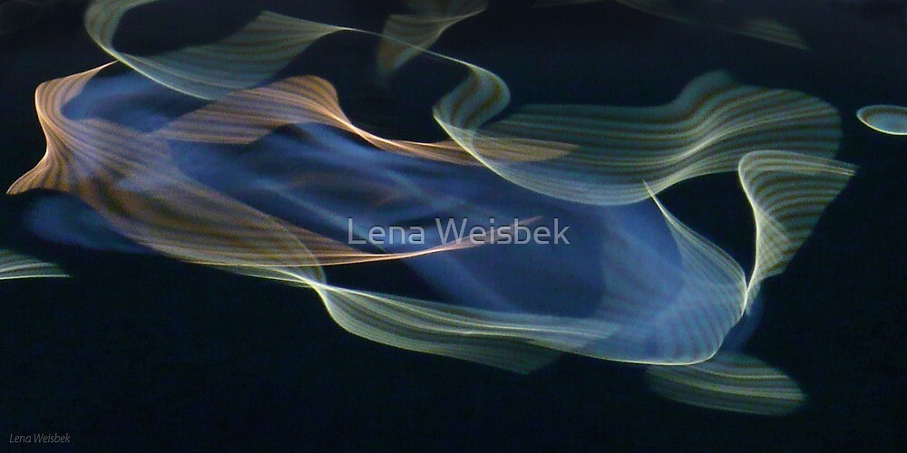 water abstract H2O # 6 by Lena Weiss