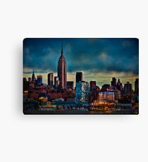 Midtown Manhattan Sunset Canvas Print