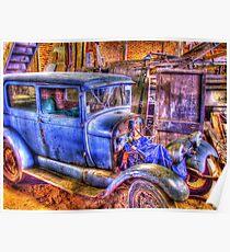 Vintage Car II Poster