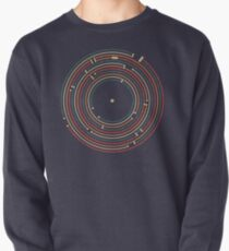 Vinyl music metro record map labyrinth  Pullover
