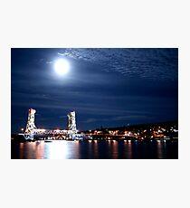 Vertical Lift Bridge Photographic Print