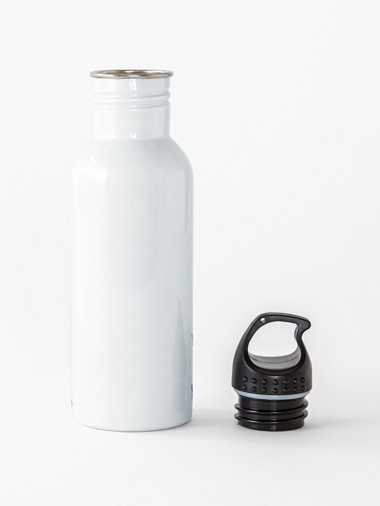 Alternate view of Sea slug - black Water Bottle