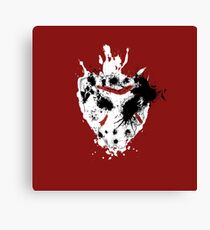 Crystal Lake Slasher Canvas Print