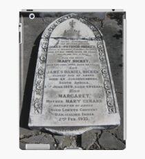 Gravestones 1 iPad Case/Skin