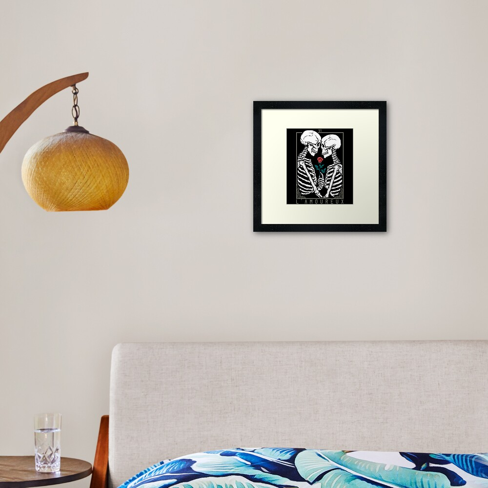 VI The Lovers Framed Art Print