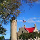 Mackinac Light house  by snehit