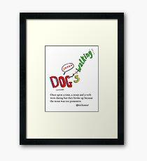 Linguistic Relationships Framed Print