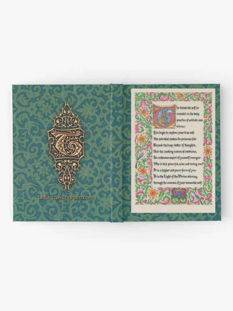 Alternate view of Medieval Illumination - The Immortal Self Hardcover Journal