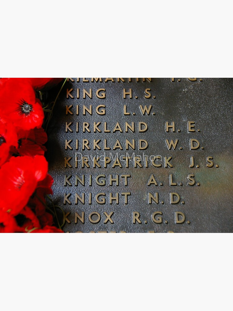 The Most Famous Anzac Of All by davidmcmahon