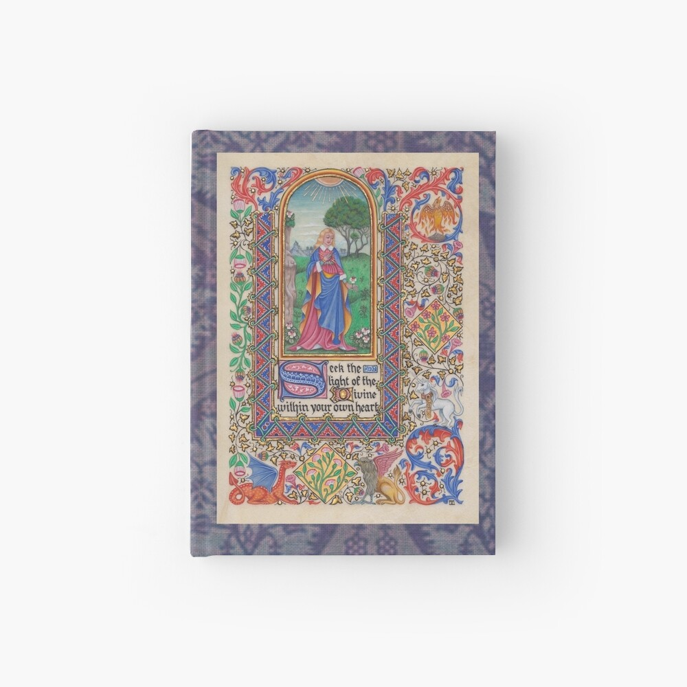 Medieval Illumination - Seek the Light Hardcover Journal