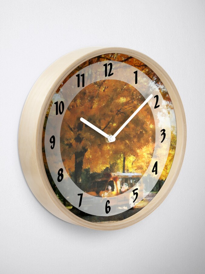 Alternate view of Back to School Clock