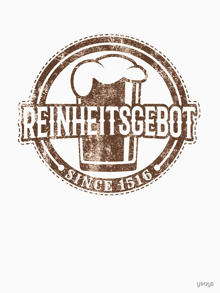 Reinheitsgebot Since 1516 - Craft Beer von yeoys