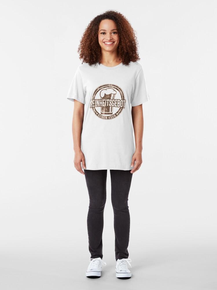 Alternative Ansicht von Reinheitsgebot Since 1516 - Craft Beer Slim Fit T-Shirt