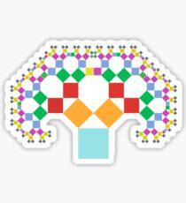 Pythagoras Original Sticker