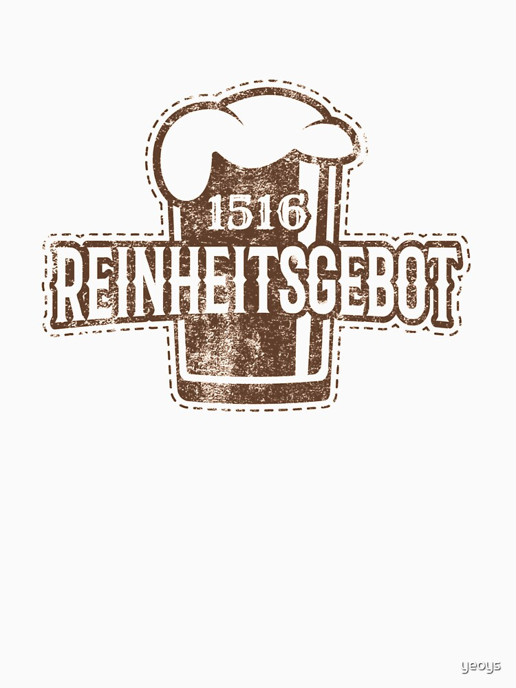 Craft Beer - 1516 Reinheitsgebot von yeoys