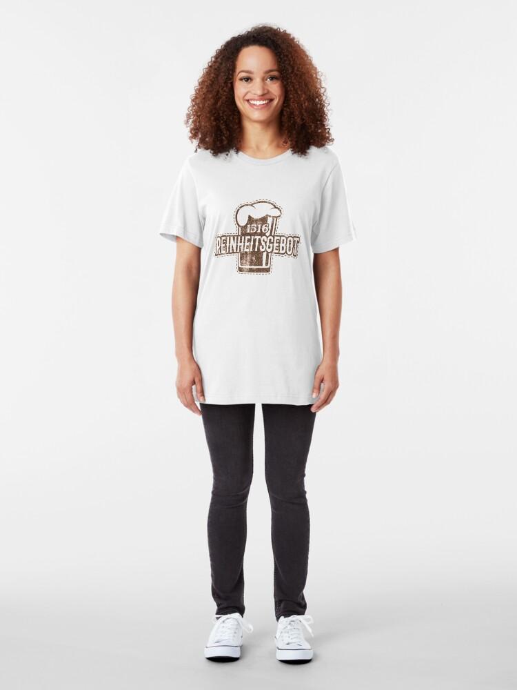 Alternative Ansicht von Craft Beer - 1516 Reinheitsgebot Slim Fit T-Shirt