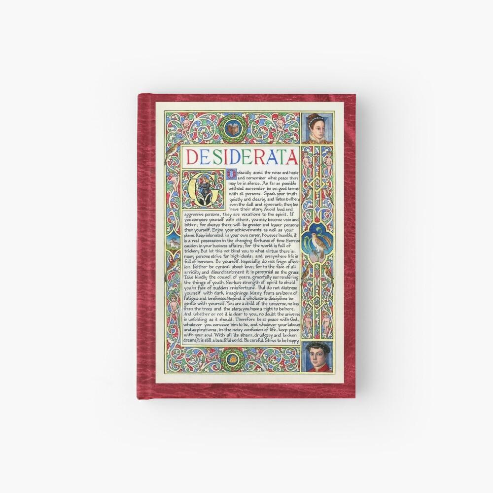 Medieval Illumination - Desiderata Hardcover Journal