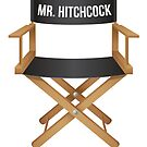 Alfred Hitchcock director chair by hypnotzd