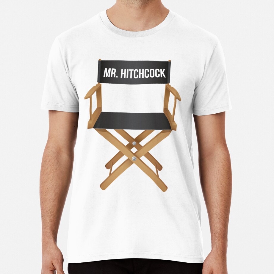 Alfred Hitchcock director chair Premium T-Shirt