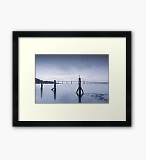 Cool Blue: Kessock Bridge, Inverness Framed Print