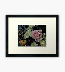 Bouquet for a friend Framed Print