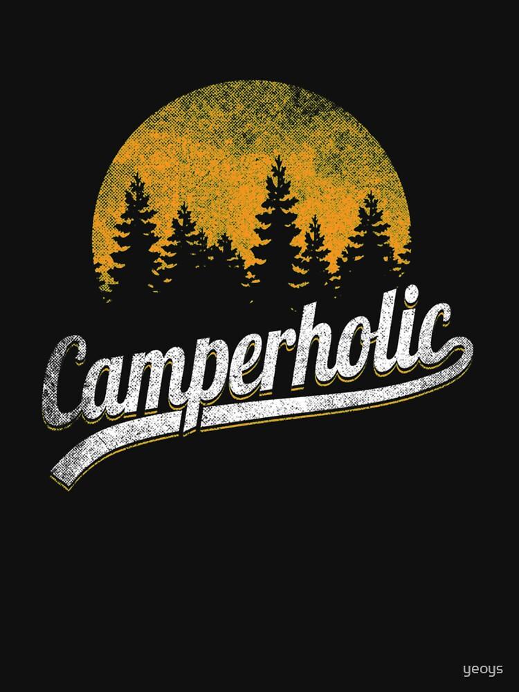Funny Camping Pun - Camperholic von yeoys