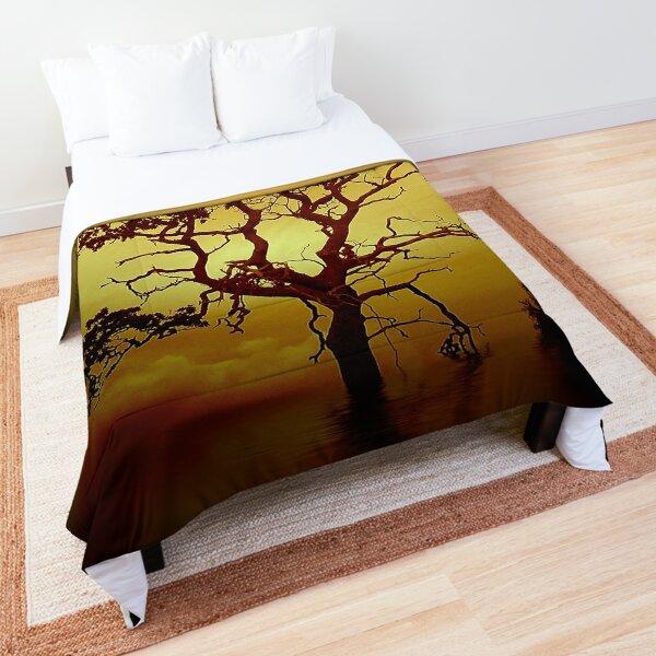 Evening Tree Comforter