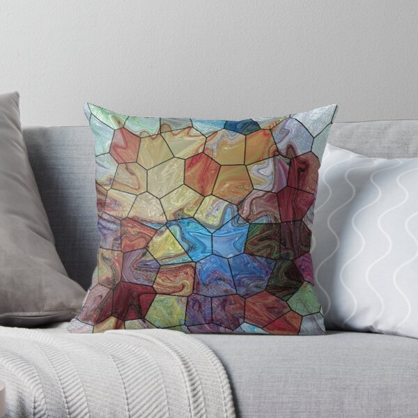 Marble 4 Throw Pillow