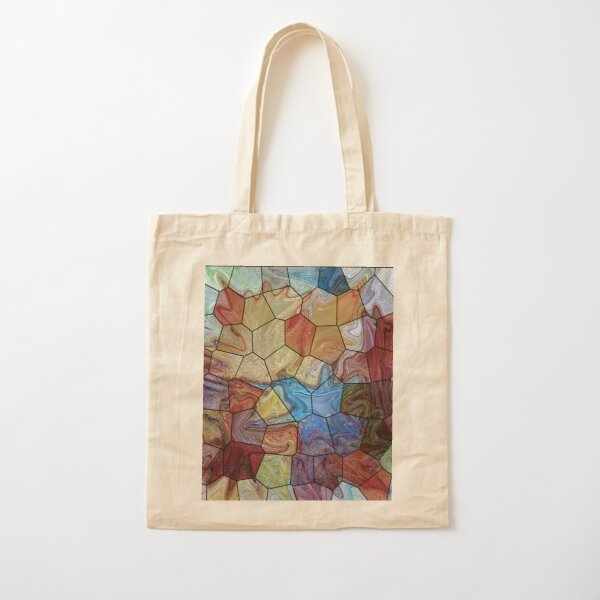 Marble 4 Cotton Tote Bag