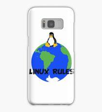 Linux Rules! Samsung Galaxy Case/Skin