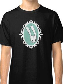 Teal Bunny -Frame Classic T-Shirt