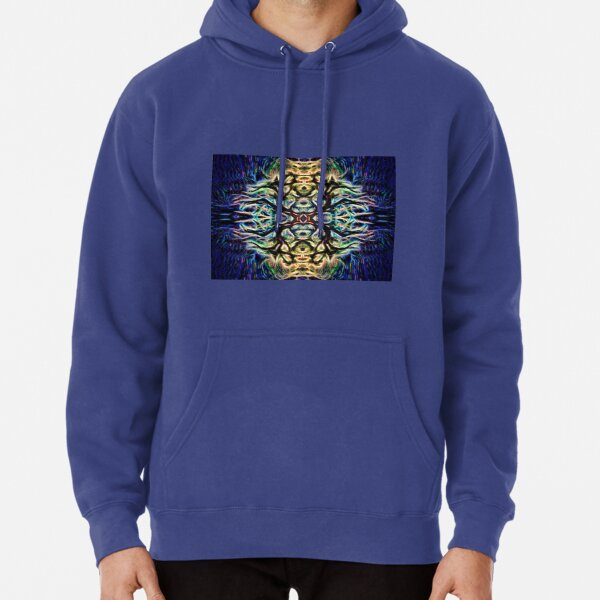 Neon Tree Shapes 7 Pullover Hoodie