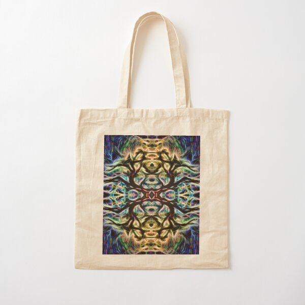 Neon Tree Shapes 7 Cotton Tote Bag