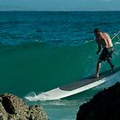 Paddle Boarding,The Pass Byron by Marion Ardana