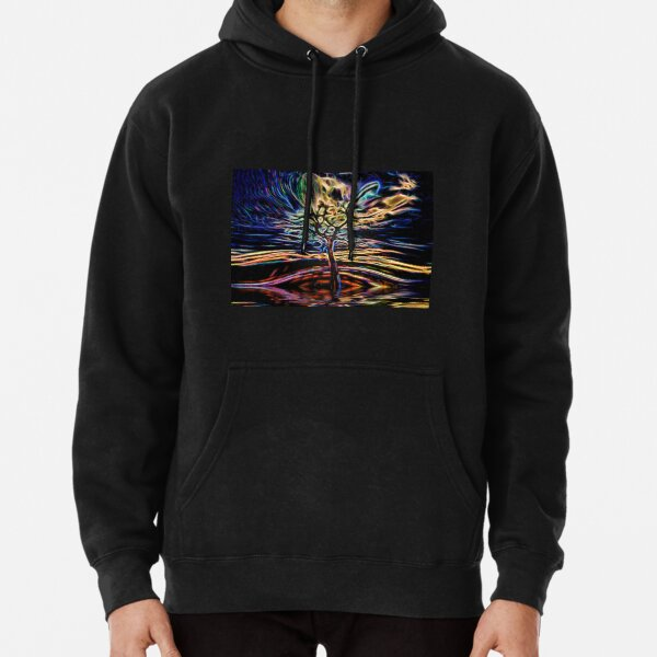 Neon Tree Shapes 11 Pullover Hoodie
