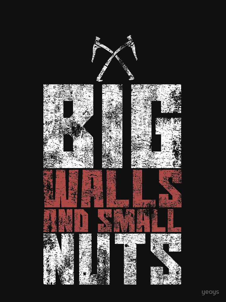 Big Walls And Small Nuts - Rock Climbing von yeoys