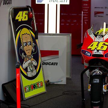 Valentino Rossi # 46 by corsefoto