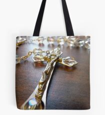 Rosary Perspective Tote Bag