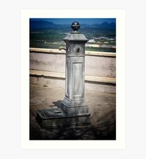 More Water in Sgurgola Italy Art Print