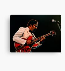 B. B. King painting Canvas Print