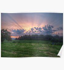 South Gippsland Sunset Poster
