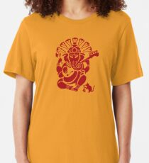 Ganesh plugged in Slim Fit T-Shirt